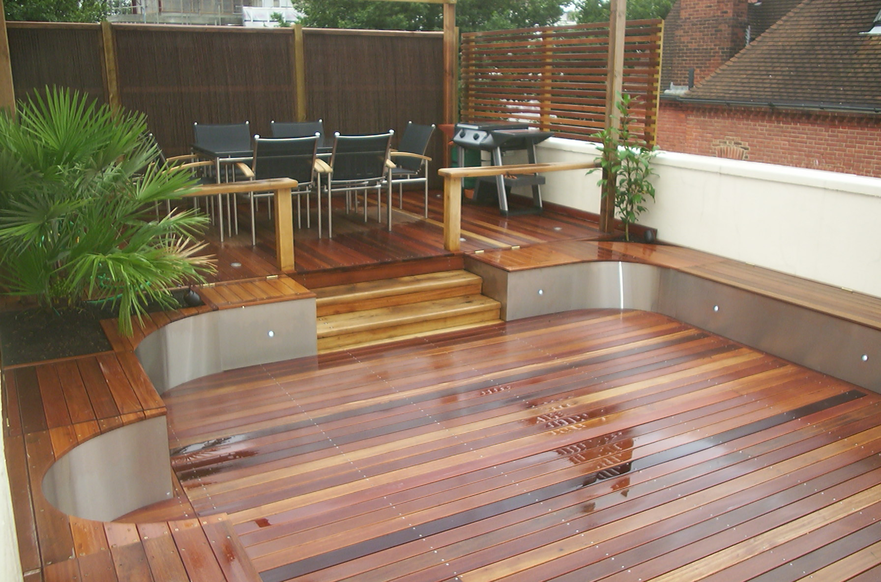 Oak decking products for Hardwood timber decking