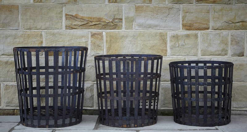 Roundwood Of Mayfield Blog Wrought Iron Log Baskets