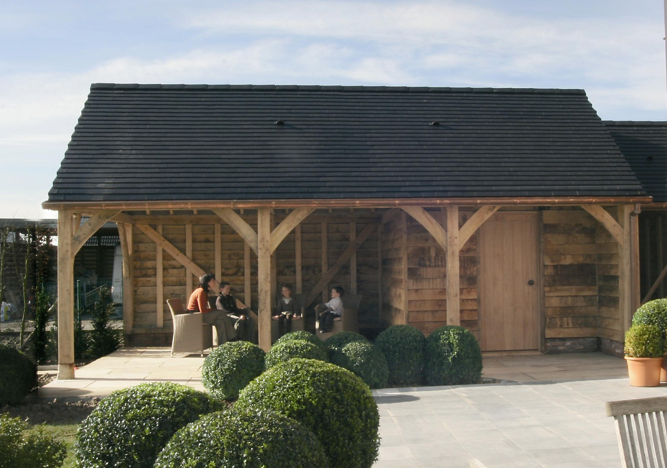 Roundwood of mayfield blog oak framed buildings listed for Round garden buildings