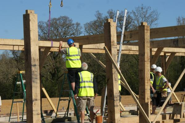 Oak Framed Building Construction