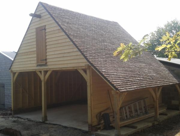 2-Bay Oak Framed Building