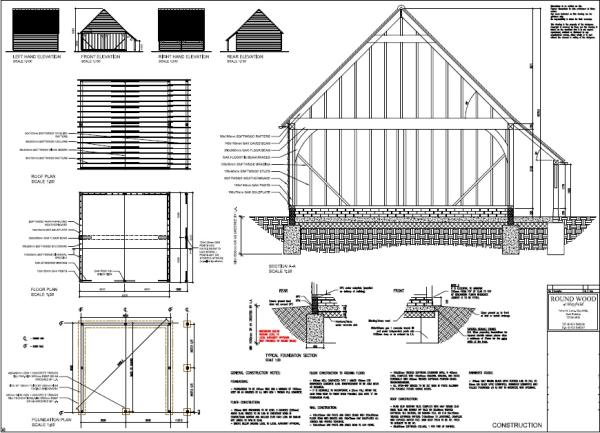 Oak Framed Building Plan