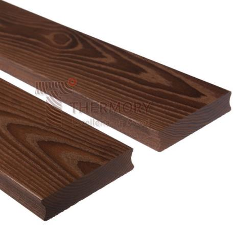 115 x 26mm Thermory® Thermo-Treated Ash Hardwood Decking
