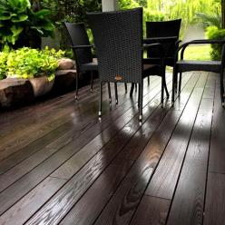 115 x 26mm  Thermory® Thermo-Treated Ash Decking