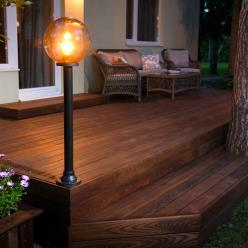 118 x 21mm Thermory® Thermo-Treated Ash Decking