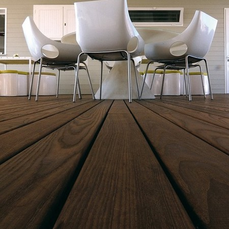 118 x 21mm Thermory® Thermo-Treated Ash Hardwood Decking