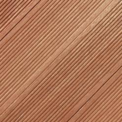 140 x 19mm Reeded Balau Decking