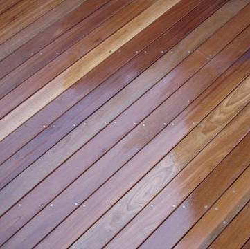 145mm x 21mm Balau Hardwood Decking