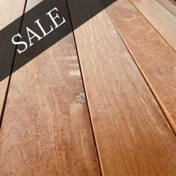 145 x 21mm Balau Decking - **SALE**