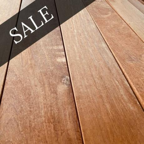 *SALE* 145mm x 21mm Balau Hardwood Decking