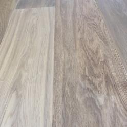 189 x 15mm Smoked/ Brushed White Oiled Oak Flooring
