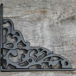 200mm Ornate Shelf Bracket