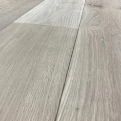 190 x 15mm Unfinished Engineered Oak Flooring