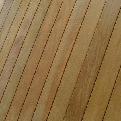 90 x 19mm Smooth Ipe Hardwood Decking fitted using ArchiDeck Hidden Fastenings