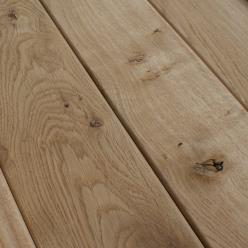125 x 22mm Smooth Oak Decking