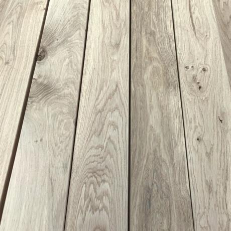 90 x 22mm Smooth Oak Hardwood Decking