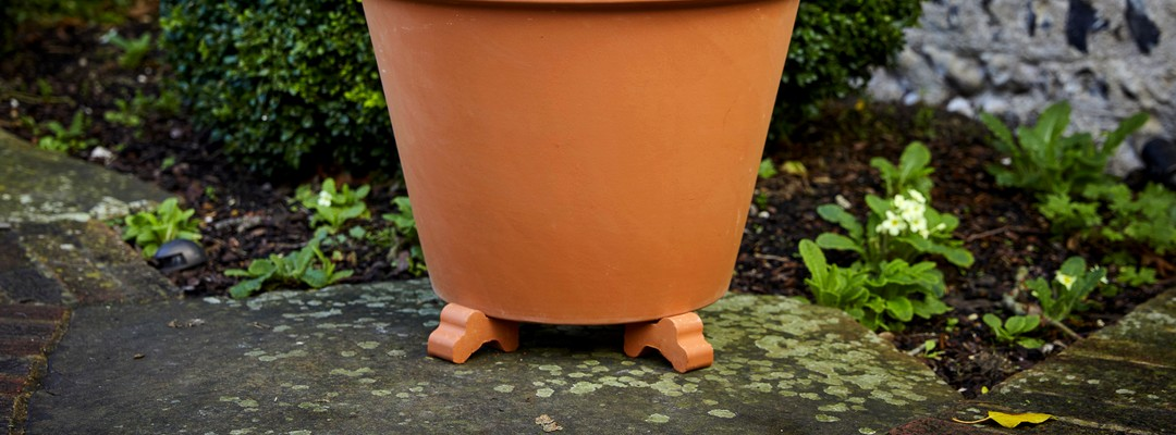 Planter Accessories; Pot Feet, Saucers & More