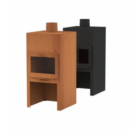 Adezz Corten Steel Stig Oven Door