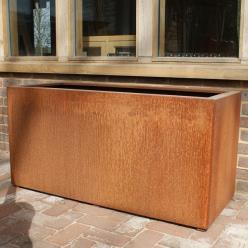 Corten Steel Andes Trough Planter