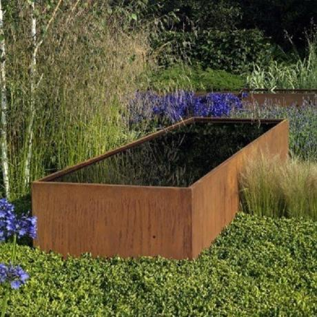 Adezz Corten Steel Pond Water Feature / Garden / Landscape