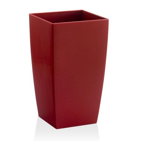 Algarve Intense Red Vase Planter Flower Pot Container Jar Tub Home Garden Feature Accessory