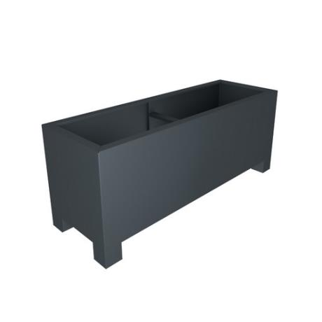Aluminium Rectangular Auget Garden Trough Planter