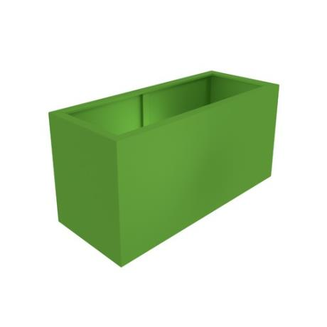 Aluminium Rectangular Hones Garden Trough Planter