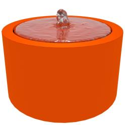 Riple Aluminium Round Water Table