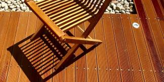 Hardwood Balau Decking.