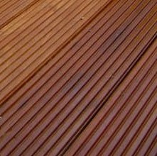140 x 19mm  Face Grooved Balau Decking