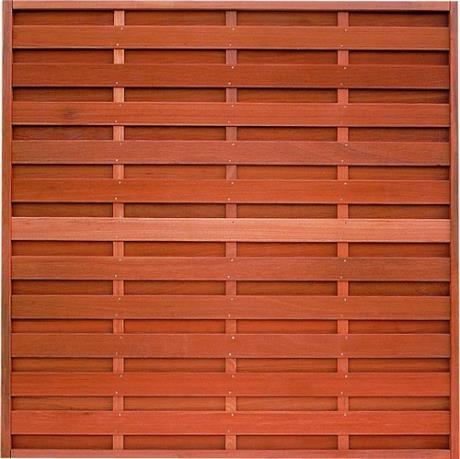 Balau Hardwood Elegant Fence Panel.