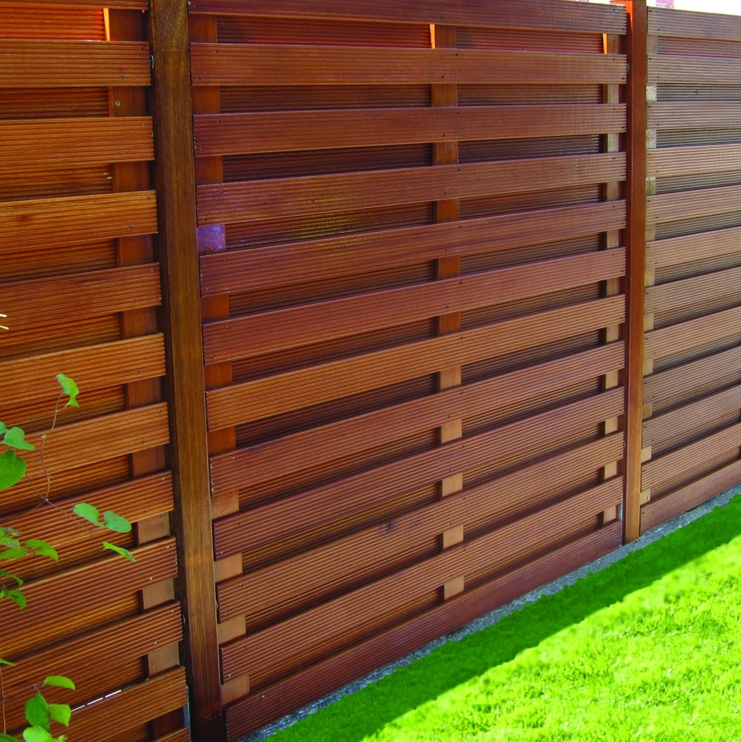 Balau Hardwood Robust Fence Panel / Trellis.