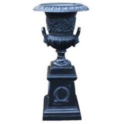 Medici Style Urn on Plinth
