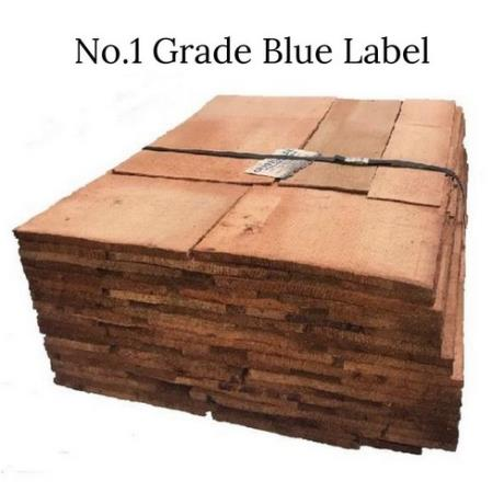 Bundle of No.1 Grade Blue Label Cedar Shingles