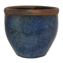Blue Taiyaun Yakuta Water Jar Planter