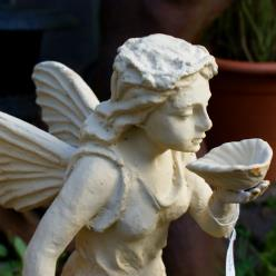 Fairy with Shell Statue