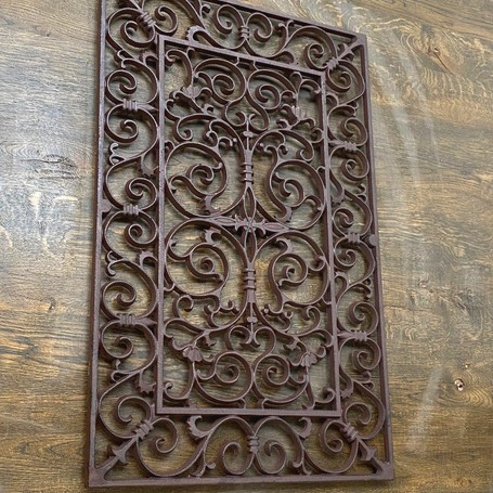 Cast Iron Home & Garden Ornate Door Mat