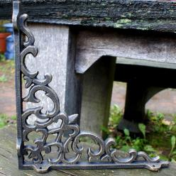 Cast Iron Ornate Shelf Bracket