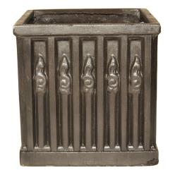 Heritage Clayfibre Ornate Box Planter