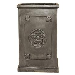 Heritage Clayfibre Tall Rose Box Planter
