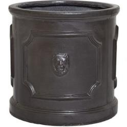 Clayfibre Lion Head Cylinder Planter