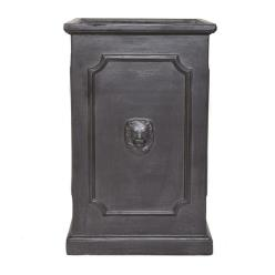Clayfibre Tall Lion Head Square Planter
