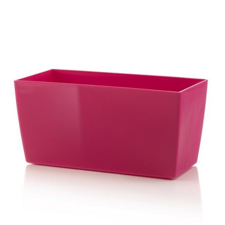 Pink Coimbra trough planter flower pot