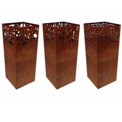 Corten Steel Herbi Fire Column