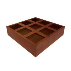 Corten Steel Kernel Vegetable Planter