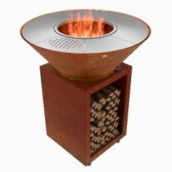 Qualis Corten Steel BBQ Burner