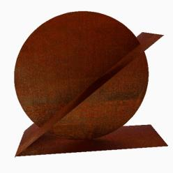 Ricum Corten Steel Sculpture