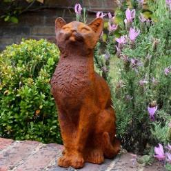 *OUT OF STOCK* Curious Cat Statue
