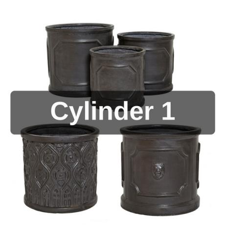 Mixed Cylinders 1 - Clayfibre