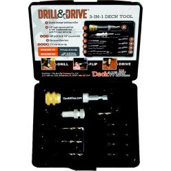 DeckWise Drill & Drive Set